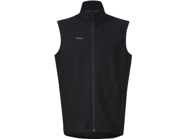 Bergans M's Ramberg Softshell Vest Black/Solid Charcoal
